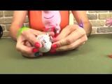 Шоколадные яица Kinder Surprise, Chupa Chups с игрушками. Свинка Пеппа, Маша.