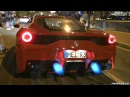 Ferrari 458 Speciale with Fi Exhaust Spitting Flames HUGE Sounds