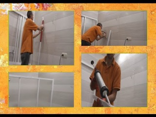УСТАНОВКА ШТОРКИ на ванну своими руками.( Ravak Штора д/ванны AVDP 3-170 )