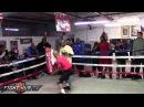 Zab Judah vs. Paulie Malignaggi- Judah full workouk (HD)