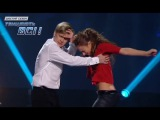Дмитрий Щебет и Алиса Доценко - Страстный хип-хоп - Первый прямой эфир - Танцуют все 6 - 29.11.2013
