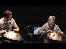 Nadishana Manu Delago Loup Barrow Thomas Bloch hang crystal organ LOCUS SOLUS Orchestra
