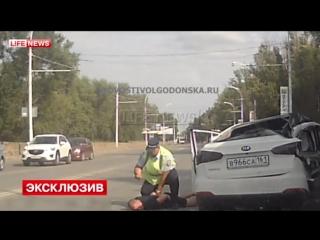 Погоня в Волгодонске за пьяным водителем