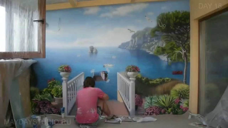 Роспись стен для начинающих