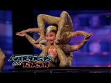 Contortionists Add Specials Twist to Their Acts - America's Got Talent 2014