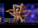 Contortionists Add Specials Twist to Their Acts America's Got Talent 2014