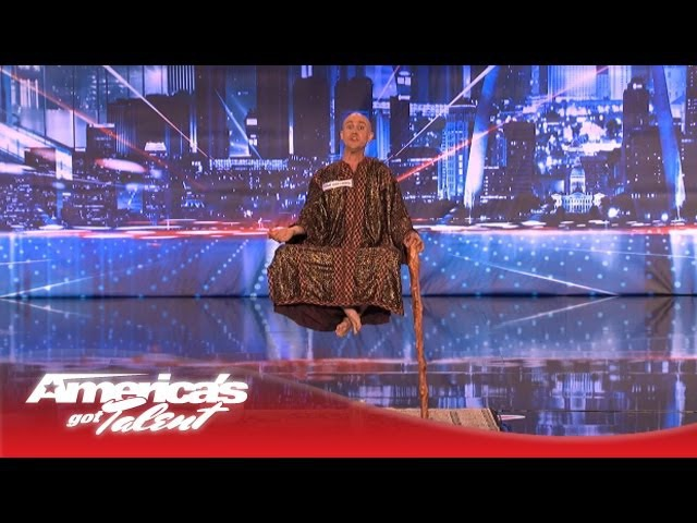Special Head Levitates and Shocks the Crowd - Americas Got Talent