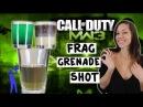 Hot girl chugs Modern Warfare Frag Grenade Shot - Tipsy Bartender