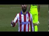 Arda Turan throws shoe on linesman - Atletico Madrid v Barcelona