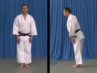 Judoforall-Основы дзюдо-Поклон стоя