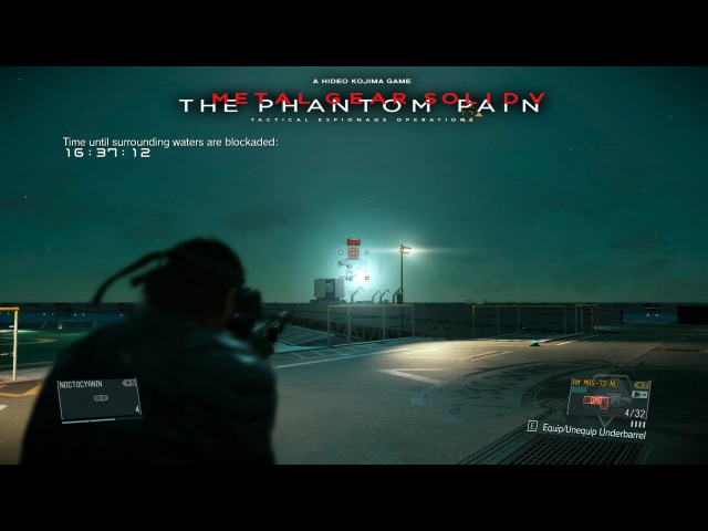 FOB Infiltration 【1】Command platform Lv 45 - Metal Gear Solid V: The Phantom Pain