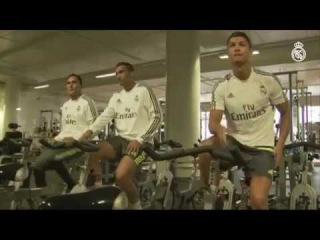 Melbourne: ejercicios en el gimnasio