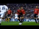 ЛЧ-2002\03. 1\4 финала. Реал Мадрид - Манчестер Юнайтед - 3:1