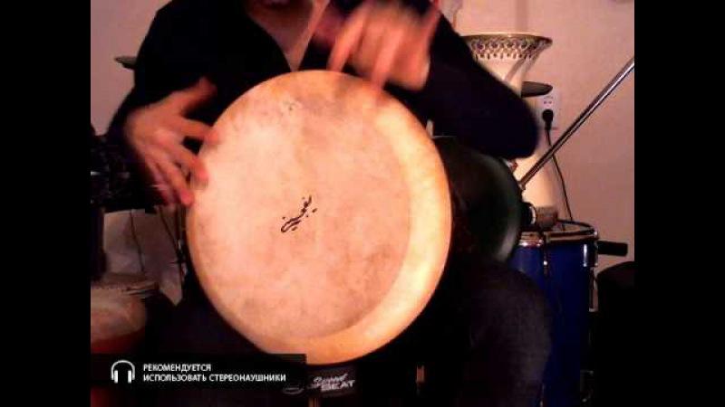 Керамическая глиняная дарбука дохола супер-бас профессиональный размер 12 дюймов