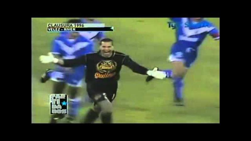 Гол Чилаверта со своей половины поля - Chilavert Best Goal
