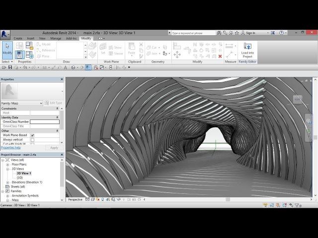 Parametric Shaded Walkway