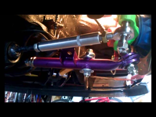 Datsun/Nissan Silvia 200SX S12/S13 Hybrid Front Suspension Video