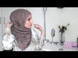 Hijab Tutorial супербыстрый и легкий способ завязать хиджаб