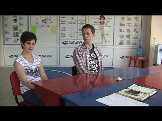 PET mock exam school STEP Diana and Dima