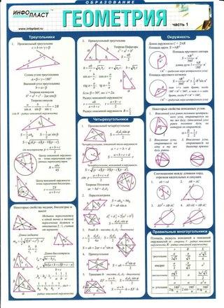 По геометрии для егэ по математике