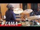Robert Sput Searight on TAMA STAR Walnut Drums -Shrill Tones-