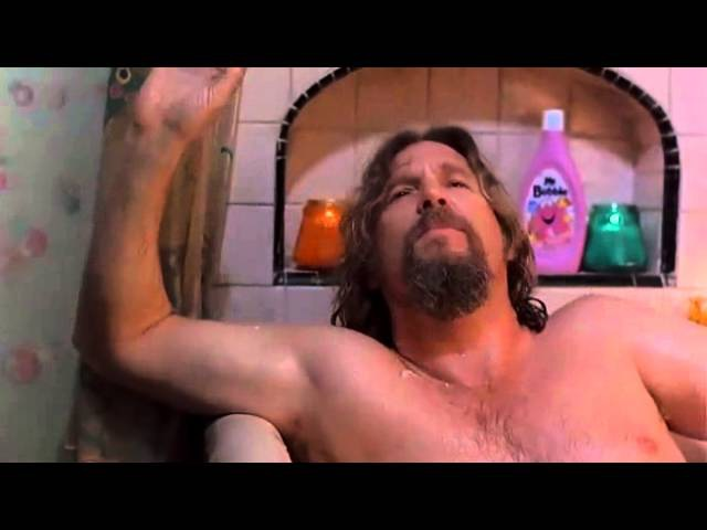 Большой Лебовский The Big Lebowski Лебовский в ванной