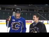 Calgary Flames - On The Ice - Snap-shots with Olli Jokinen