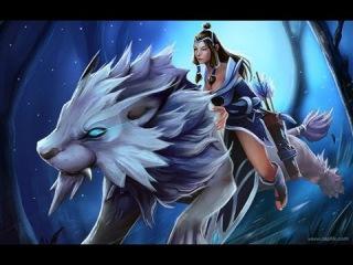 История героев доты 2 (Mirana - princes of the moon)