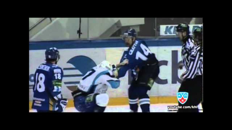Грэттон VS Китаров KHL Fight Gratton VS Kitarov