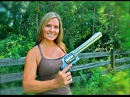 ONE GIRL SHOOTING the S W 500 MAGNUM for the FIRST TIME Girls shooting the MAGNUM