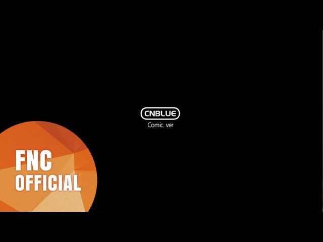 CNBLUE (씨엔블루) 2nd Album Cinderella (신데렐라) Comic ver.