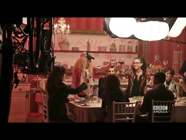 A Closer Look at Orphan Black Season 3- The Four Clone Dinner Scene 25.06.2015