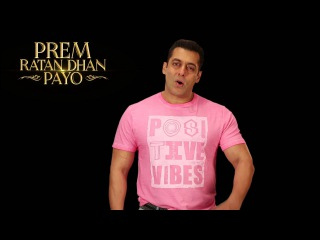 Salman Khan promoting Prem Ratan Dhan Payo Trailer - BookMyShow
