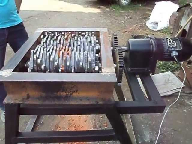 Шредер для металла своими руками 36