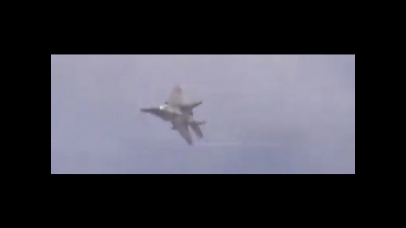 Syria War - Rebels Filming Direct MIG 29 Airstrike On Their Team *MUST SEE