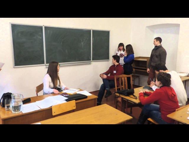 Школа універсального журналіста в Острозькій академії: міні-вистава від учнів
