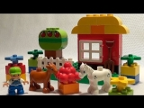 Конструктор Лего ферма. Lego Duplo farm animals