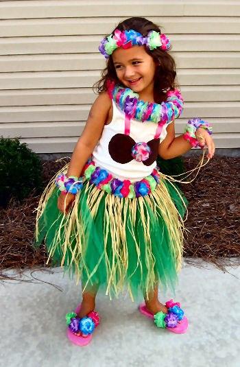 Детская гавайская