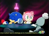 Amy Rose & Sonic-Aqua-Roses Are Red
