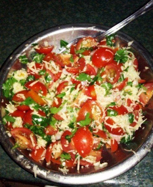 Несложные салатики на каждый день  Итак, очень простые и очень вкусные