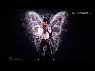 Mans Zelmerlöw - Heroes (Sweden) - LIVE at Eurovision 2015.