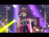 26.07.2013 AOA Black - Moya Comeback Stage - Music Bank