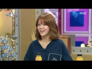 [RADIO STAR] 라디오스타 - AOA Jimin showed MC diss rap 턱주가리 랩 선뵈는 AOA 지민 20150722