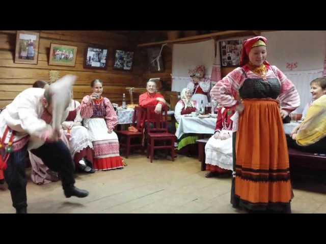 Ход уточкой дер Пожарище Вологодская обл 2013