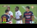 Leo Messi Vs Mapou Yanga-Mbiwa Fight! ● Barcelona - Roma ● Gamper Trophy 2015\2016 ● HD