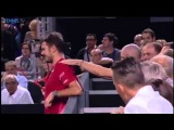 When you're in desperate need of a massage - Stan Wawrinka