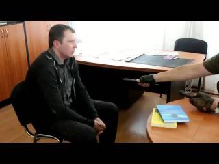 Горловчанин обещал убить редактора сайта, но встретился с будущей жертвой и передумал