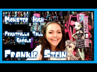 Monster High Frightfully Tall Ghouls Frankie Stein Doll Review | WookieWarrior23