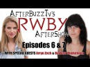 RWBY After Show w Barbara Dunkelman and Arryn Zech Volume 2 Episodes 6 and 7 AfterBuzz TV