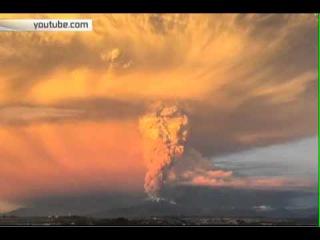 Из-за извержения вулкана в Чили эвакуировано около 1,5 тыс человек